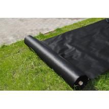Agrowłóknina ściółkująca P-50 czarna 1,6 x 100mb